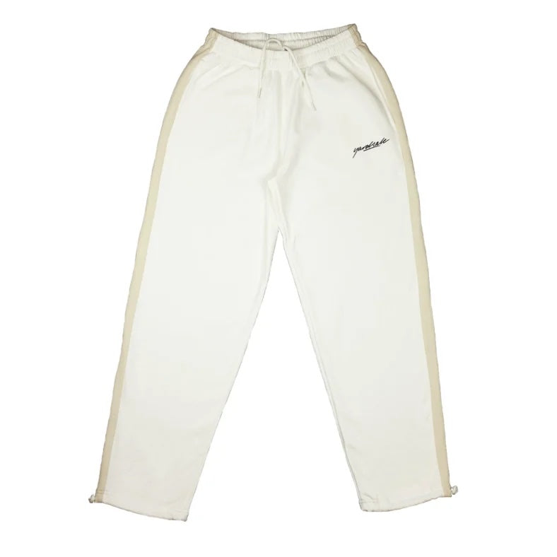 Yardsale 2-Tone Track Bottom Lemon/White