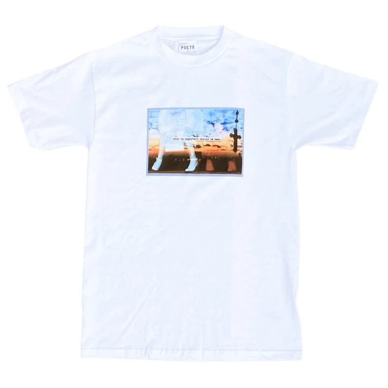 Poets Better Half SS Tee White
