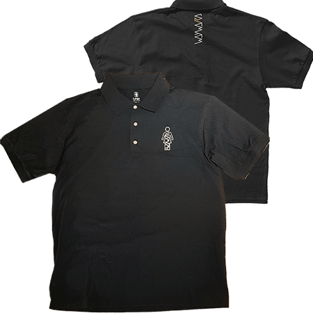 Girl X Wayward OG s/s Polo Black - 1991 Skateshop Online Store