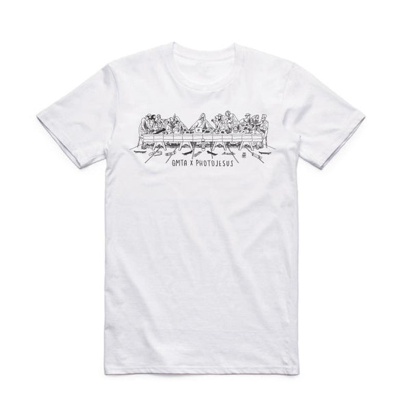GMTA x Photojesus Last Supper Tee - White