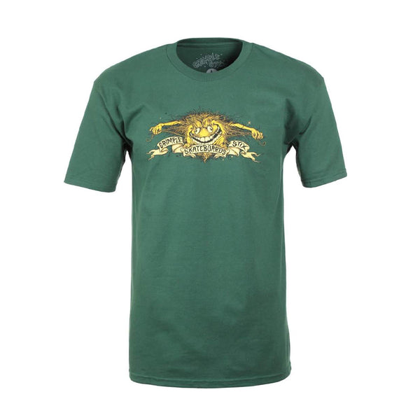 Antihero Tee Grimple Eagle Green
