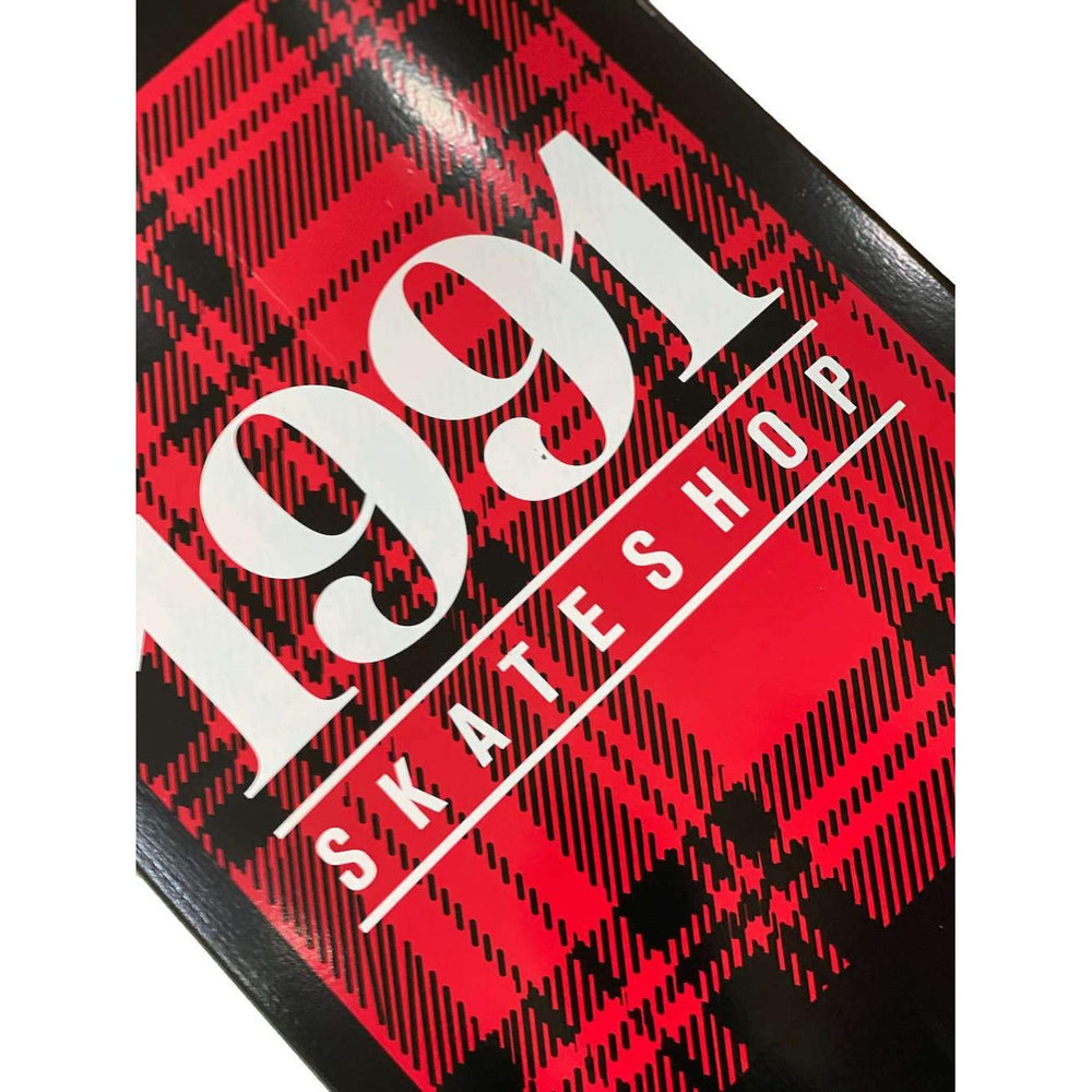 1991 Tartan Deck Black/Red