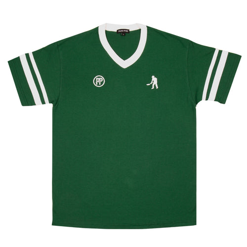 Passport Workers Stripes Jersey Dark Green/ White - 1991 Skateshop Online Store