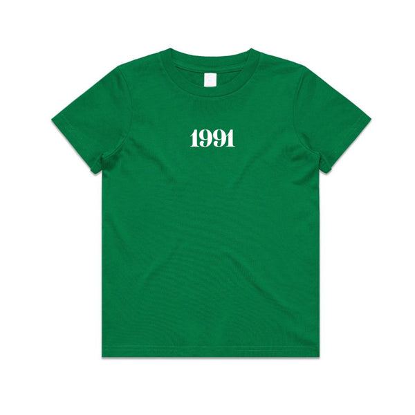 1991 Tee KIDS S19 Kelly Green