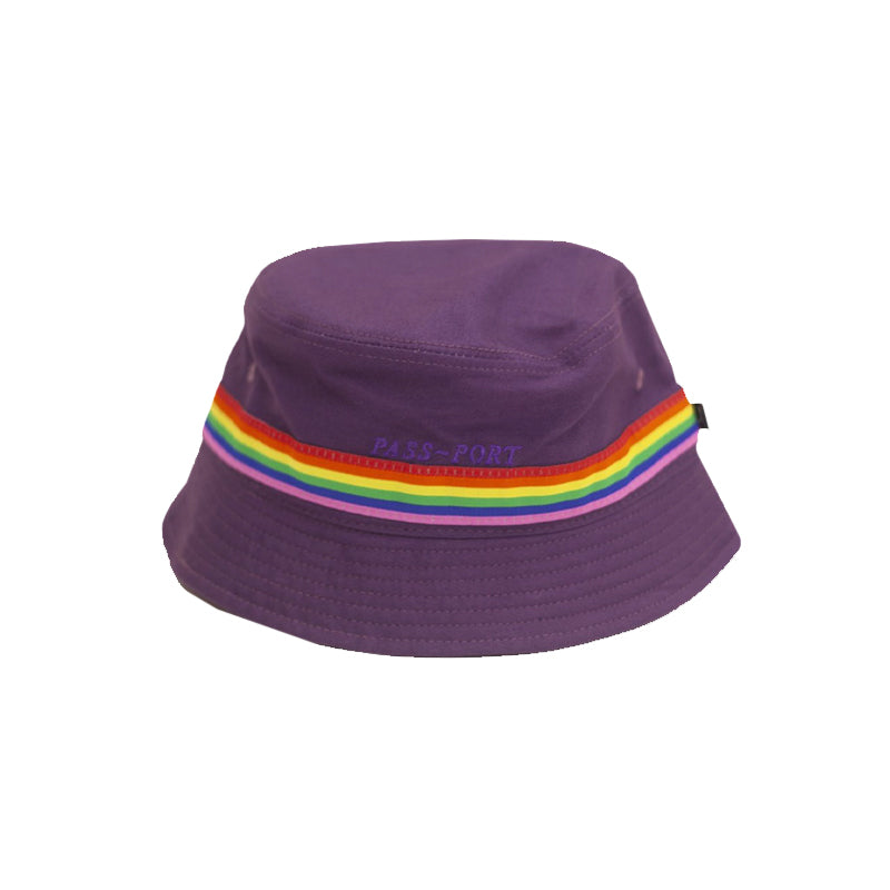 Passport Mardi Gras Bucket Hat Purple - 1991 Skateshop Online Store