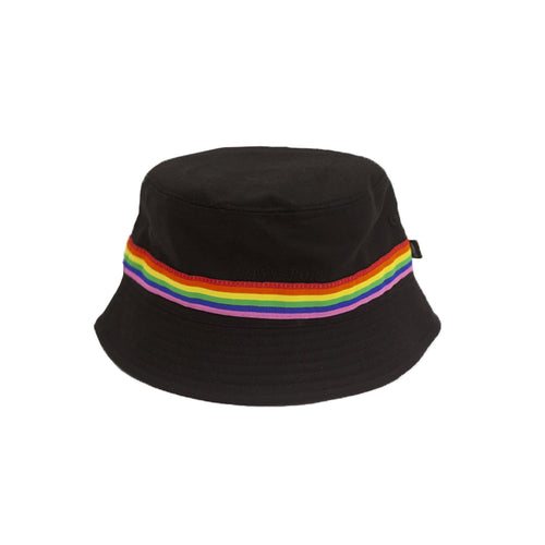 Passport Mardi Gras Bucket Hat Black - 1991 Skateshop Online Store
