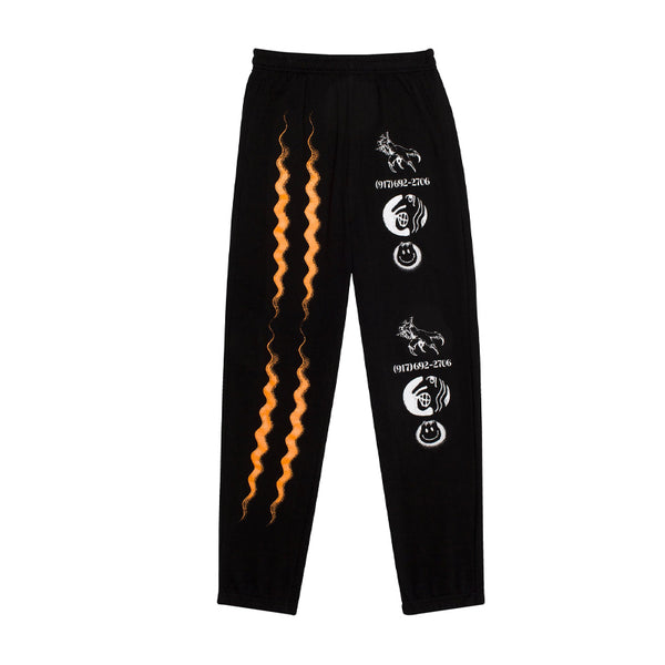Call Me 917 Matrix Sweatpants Black