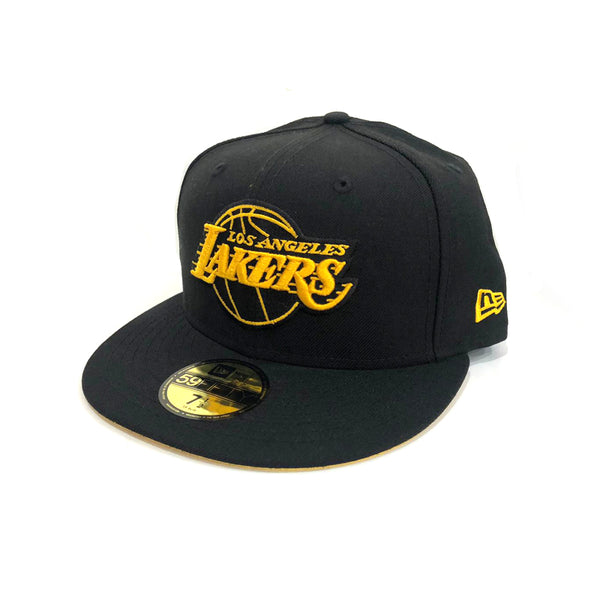New Era Los Angeles Lakers 59Fifty Fitted Black/Canary