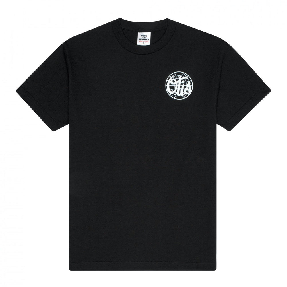 Boys of Summer Otis Tee - Black - 1991 Skateshop Online Store