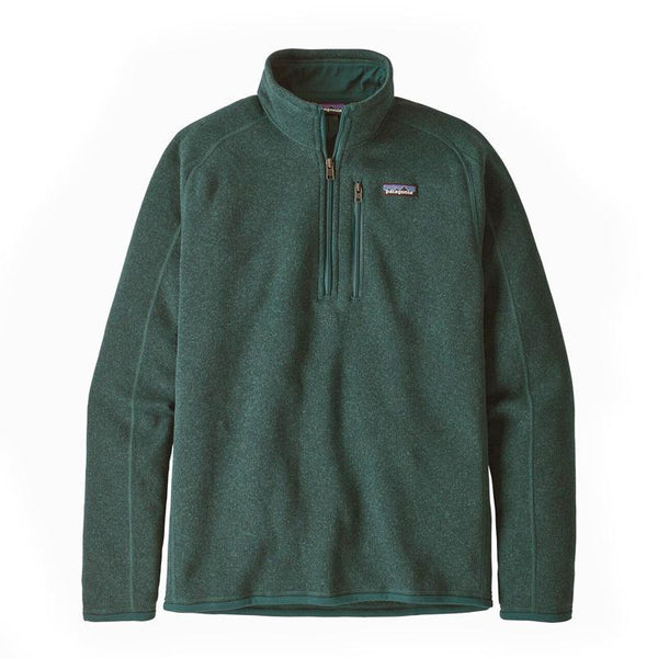 Patagonia M's Better Sweater 1/4 Zip Piki Green