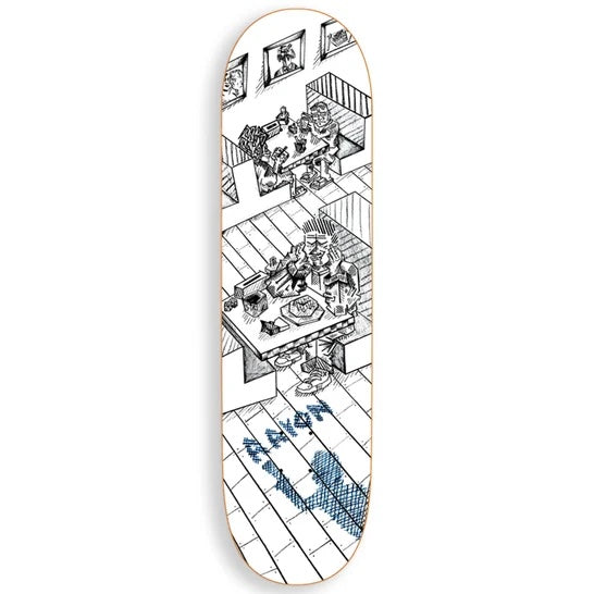 Polar Skate Co AAron Herrington Diner Deck 8.375 | 1991 Skateshop | Fremantle WA