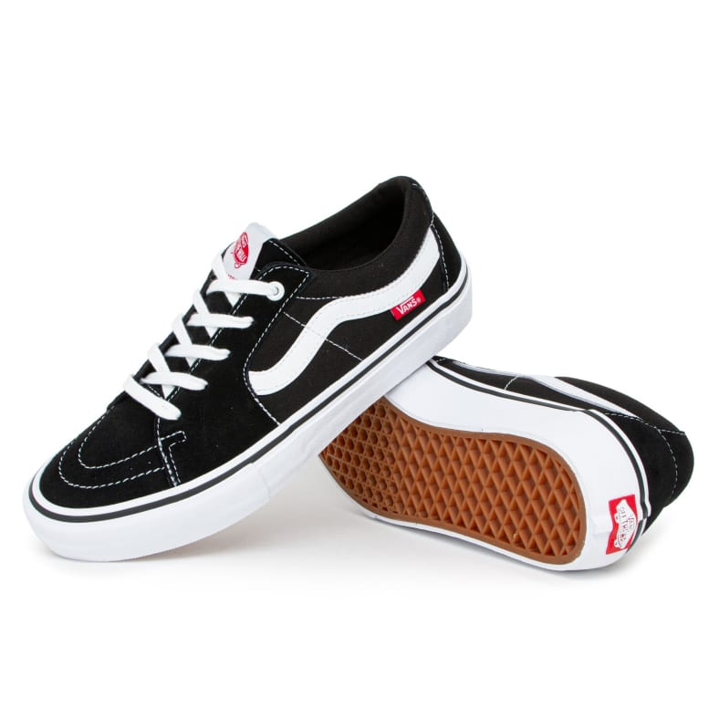 Vans Skate Sk8 Low Pro Black/White