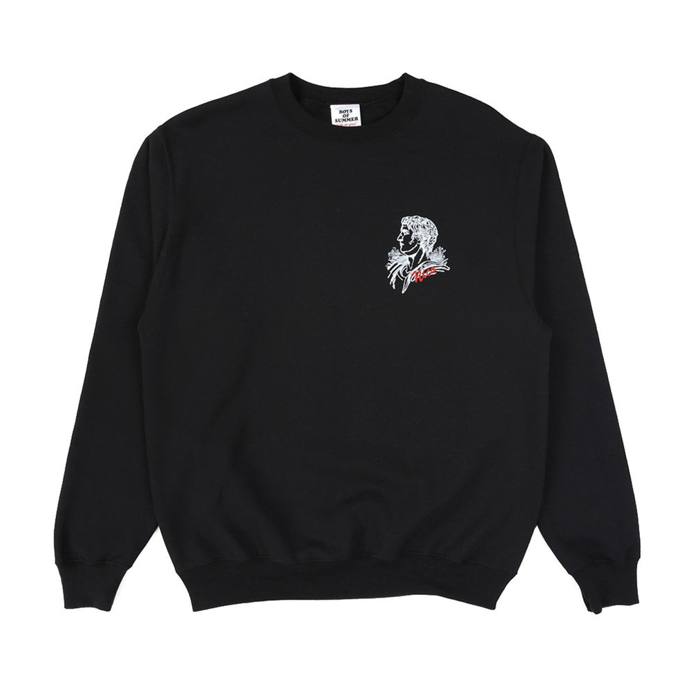 Boys of Summer Roman Holiday Crewneck - Black