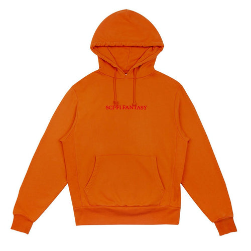 Sci-Fi Fantasy Logo Hood Burnt Orange - 1991 Skateshop Online Store