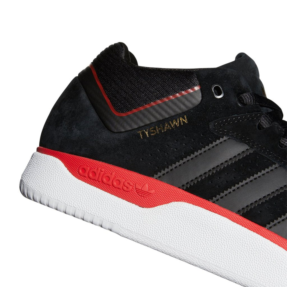 Adidas Tyshawn Black/Scarlett/Gold