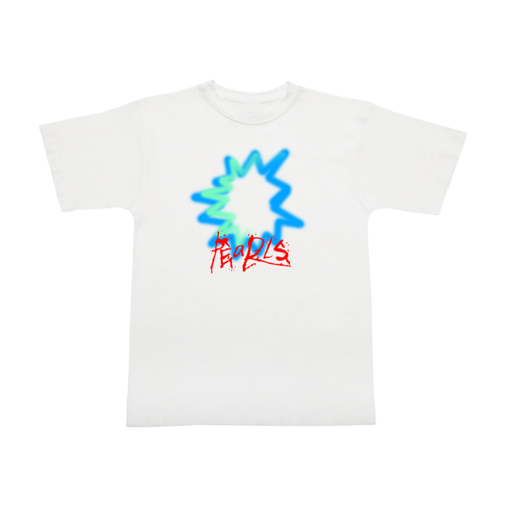 Pearls Spray Tee White
