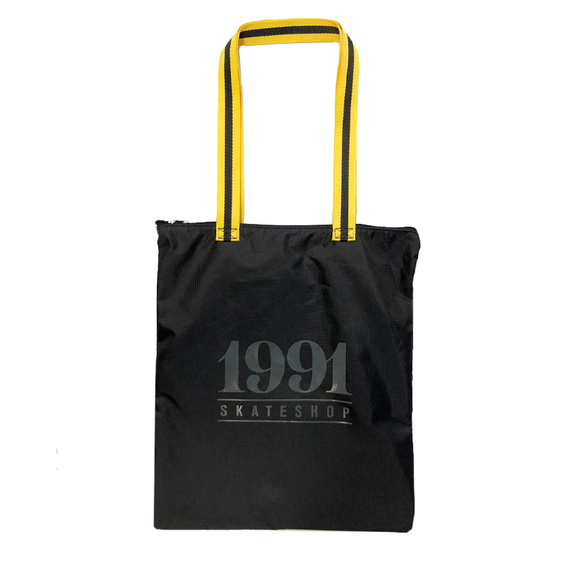 1991 UltraLite Ripstop Side Bag Black/Yellow - 1991 Skateshop Online Store