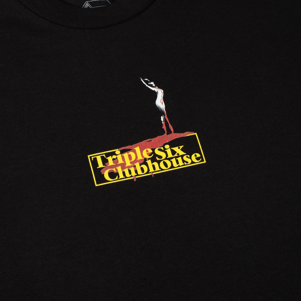 Triple Six Clubhouse Ballet Tee Black