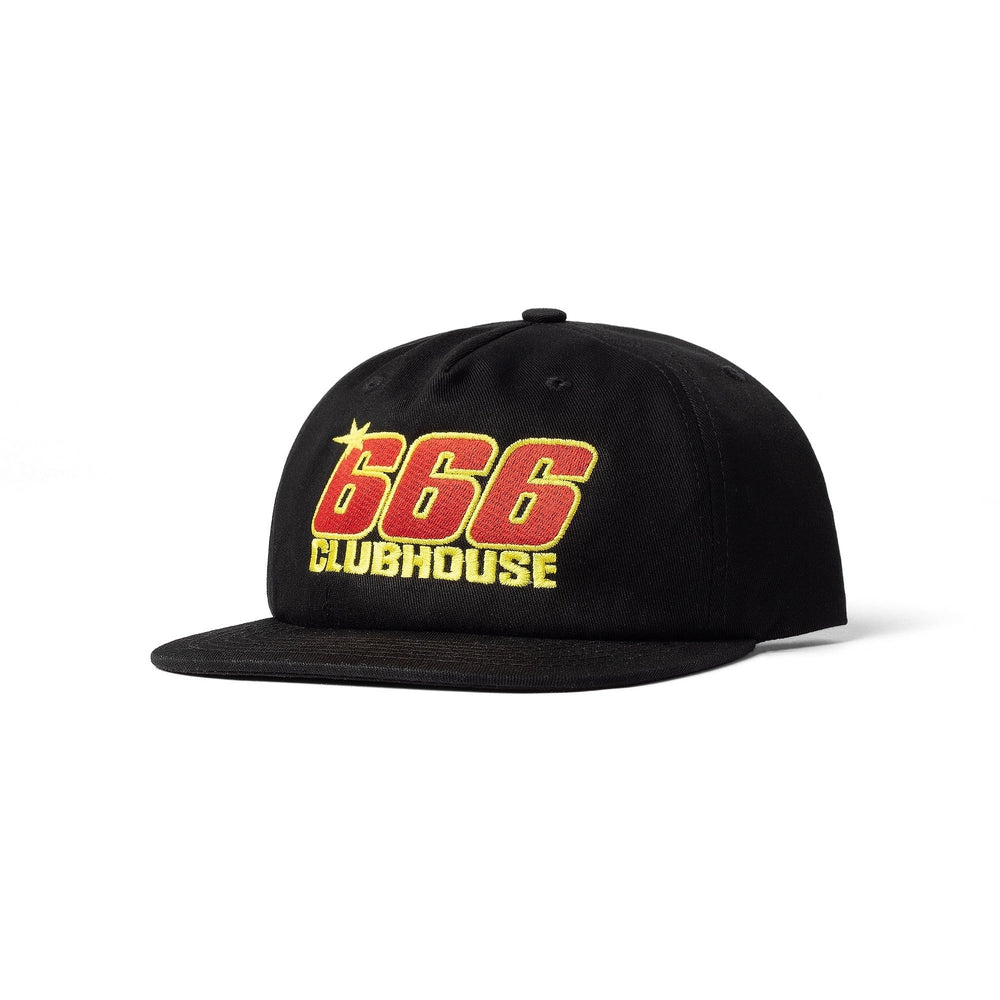 Triple Six Clubhouse Speed Cap Black | 1991 Skateshop | Fremantle WA