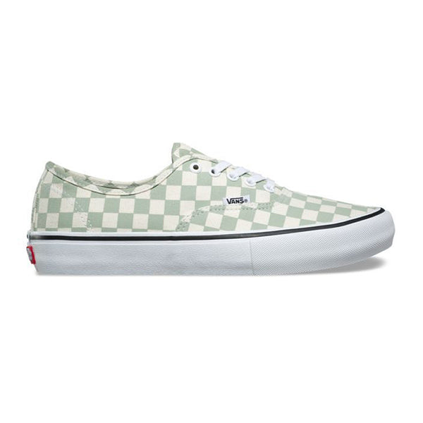 Vans Authentic Pro Checkerboard Desert Sage