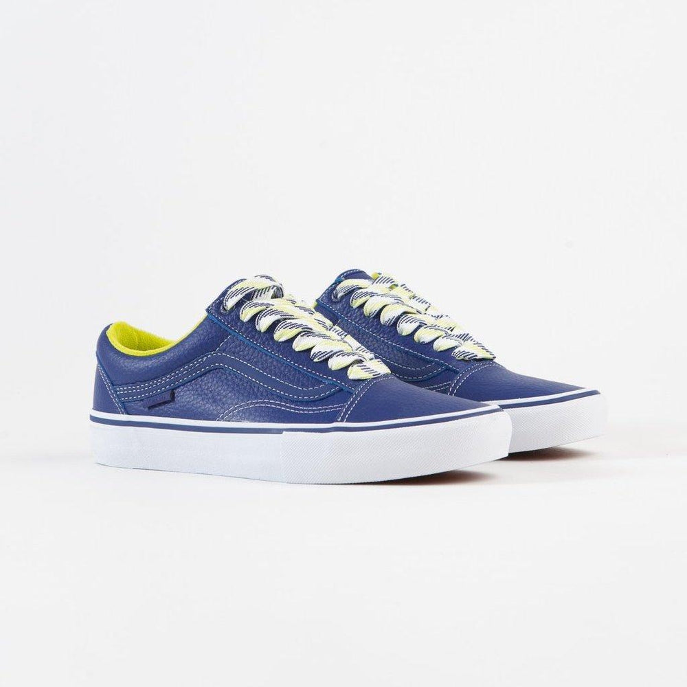 Vans Old Skool Pro x Quarter Snacks - Royal Blue