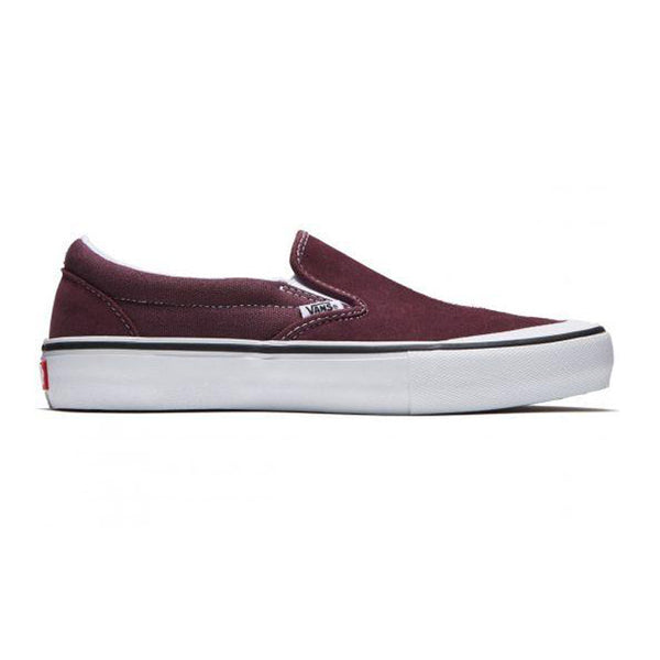 Vans Classic Slip On Pro Raisin/White