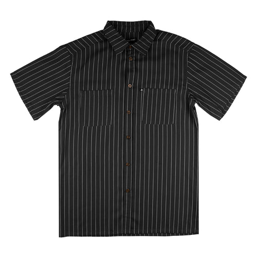 Passport Worker S/S Shirt Black Stripe - 1991 Skateshop Online Store