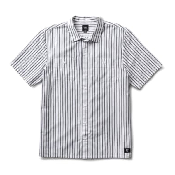 Vans Rowan Zorilla Workwear Stripe Shirt White/Dress
