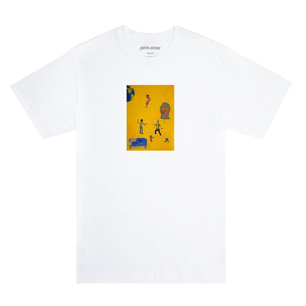 FA World Dill Painting Tee White