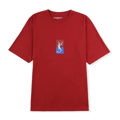 Yardsale Split Tee Red