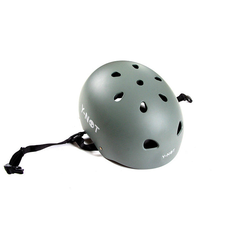 Y-Not Helmet Grey - 1991 Skateshop Online Store