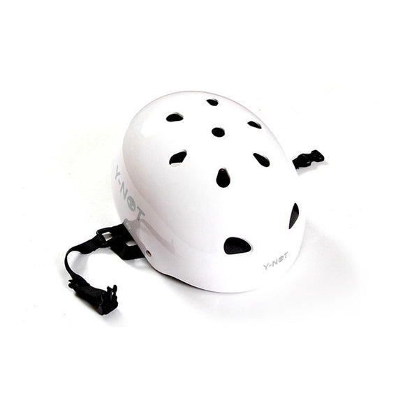Y-Not Helmet White