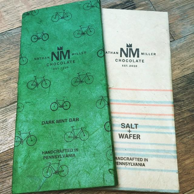 Nathan Miller Dark Chocolate Mint Bar | Revittle