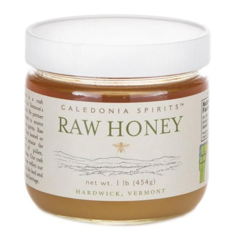 Caledonia Spirits Raw Honey 1 lb Container | Revittle