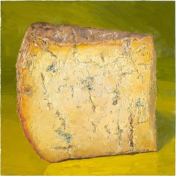 Cheese Portrait West West Blue | Revittle