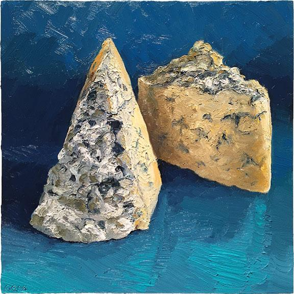 Cheese Portrait Great Hill Blue | Revittle