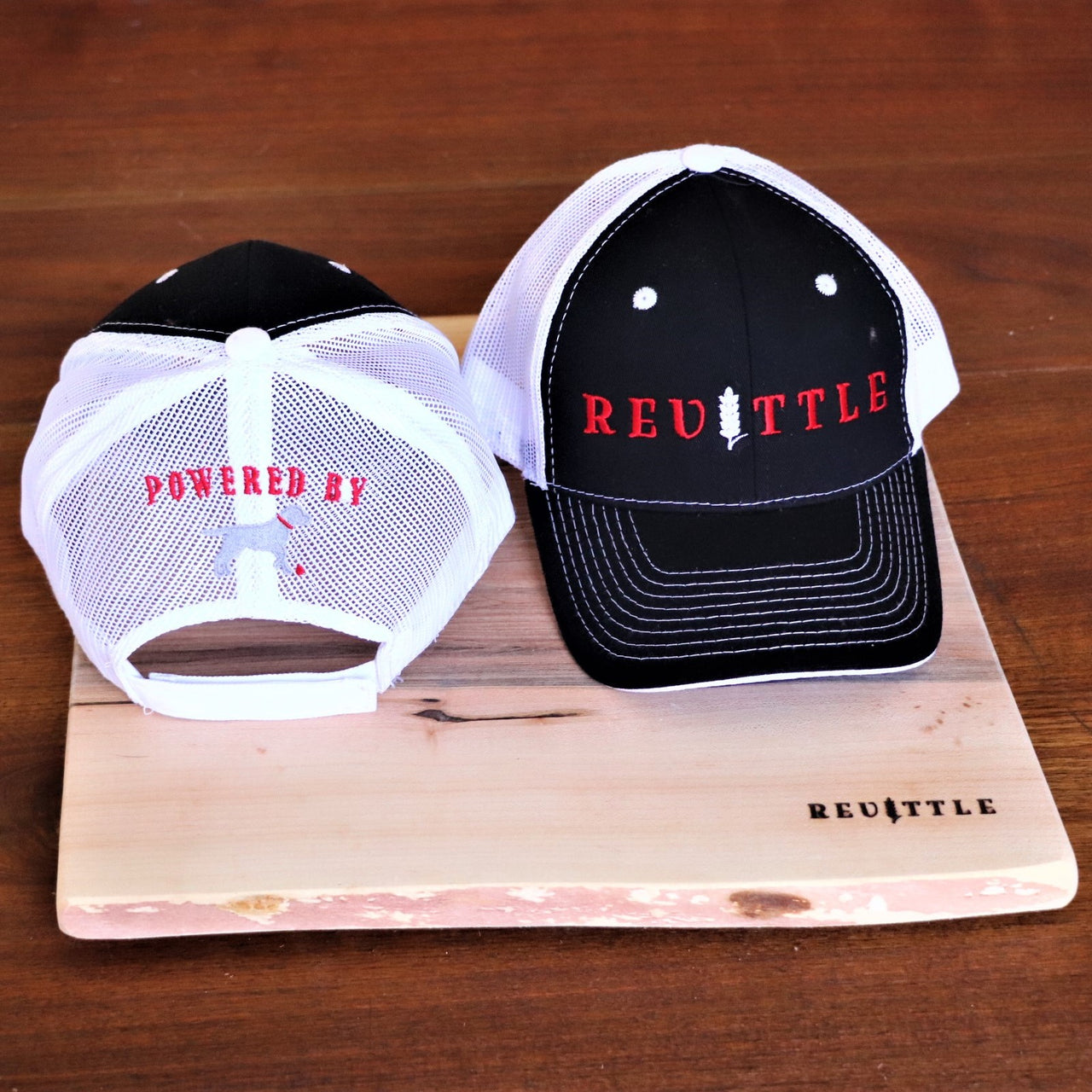 Revittle: Powered by Labrador Trucker Hat