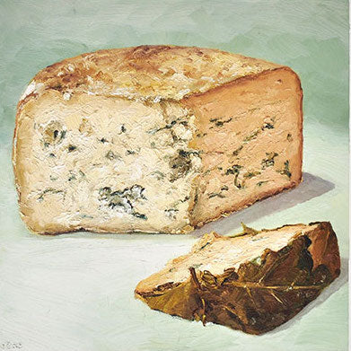 Cheese Portrait Huckleberry Blue | Revittle