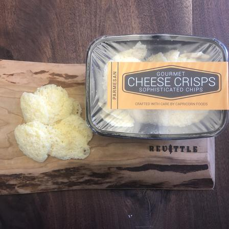 Capricorn Foods Parmesan Cheese Crisps | Revittle