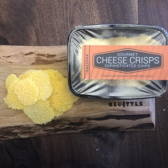 Capricorn Foods Cheddar Cheese Crisps | Revittle