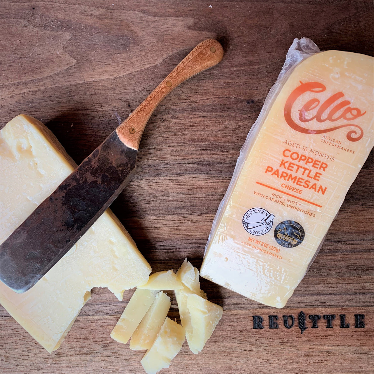 Cello Copper Kettle Parmesan | Revittle