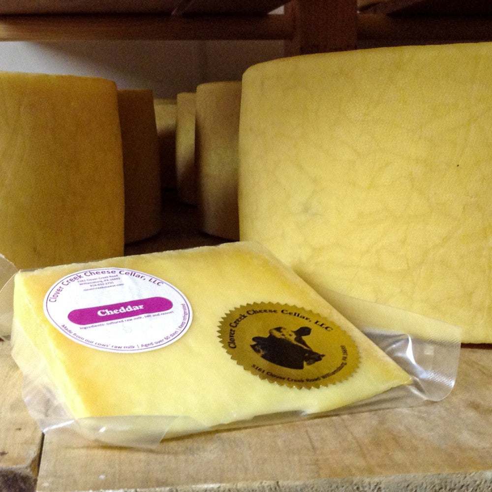 Clover Creek Cheese Cellar Cheddar | Revittle