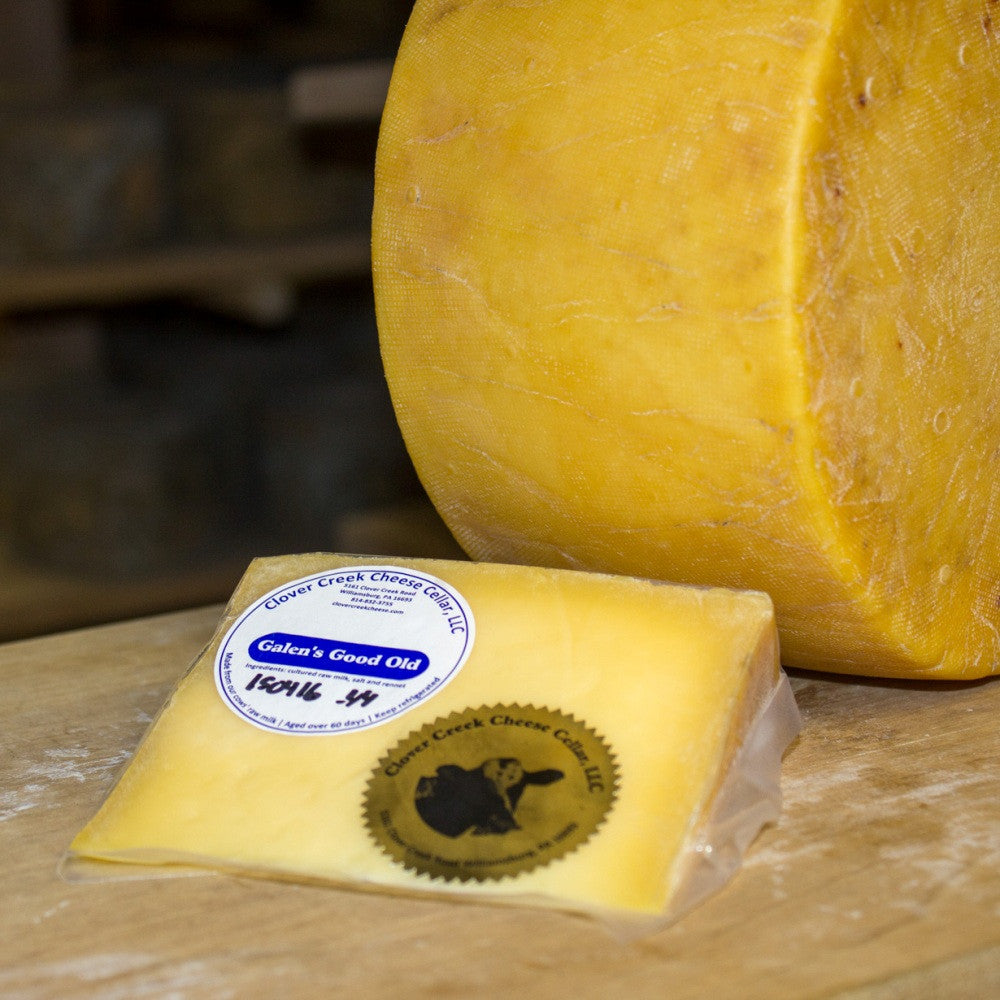 Clover Creek Cheese Cellar Galen's Good Old Gouda | Revittle