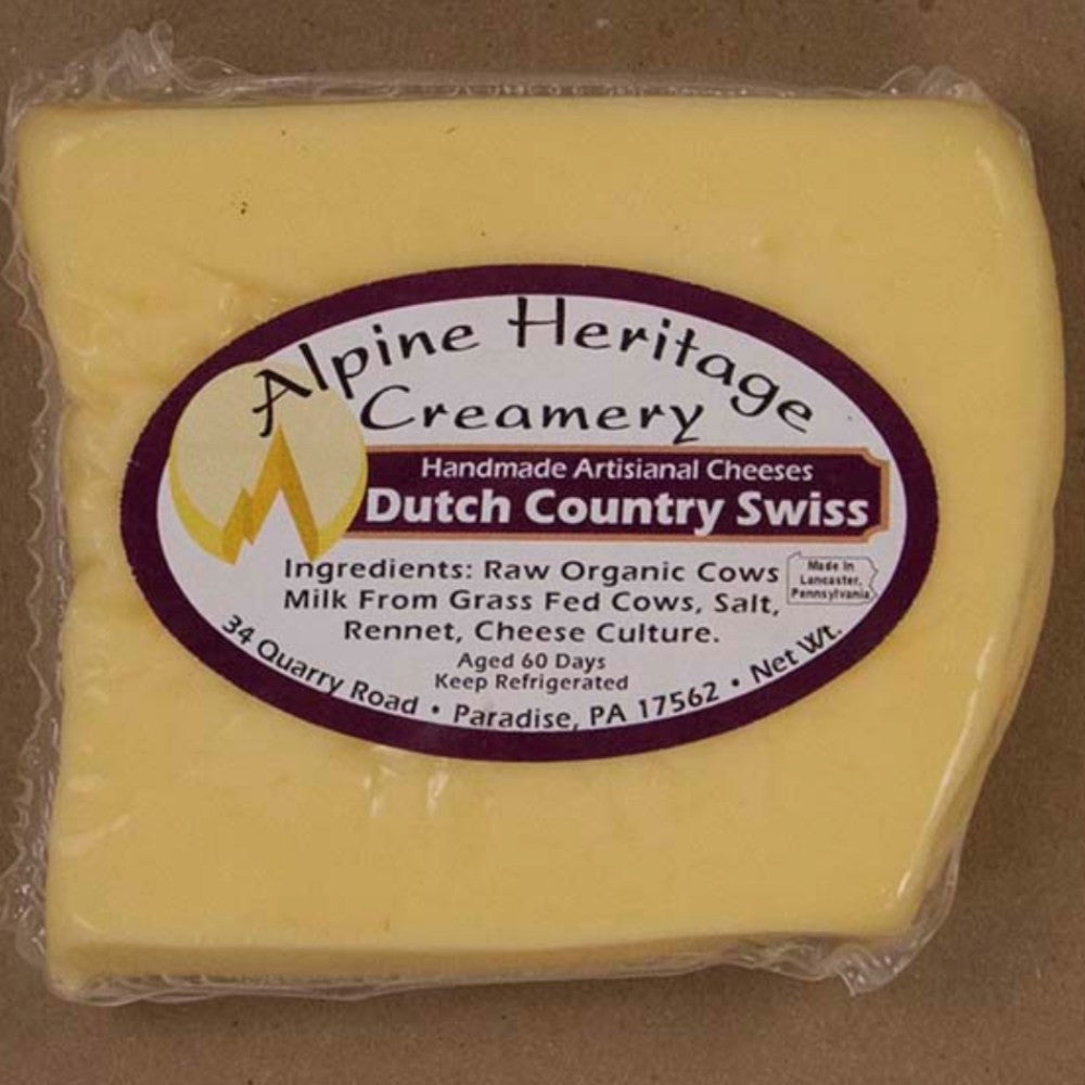 Alpine Heritage Creamery Dutch Country Swiss | Revittle