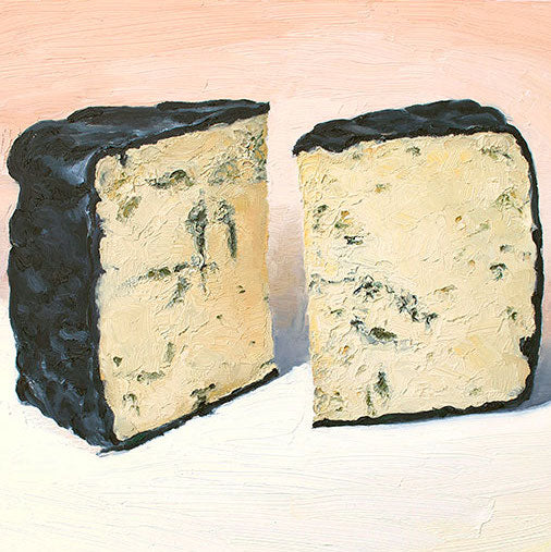 Cheese Portrait Black and Blue | Revittle