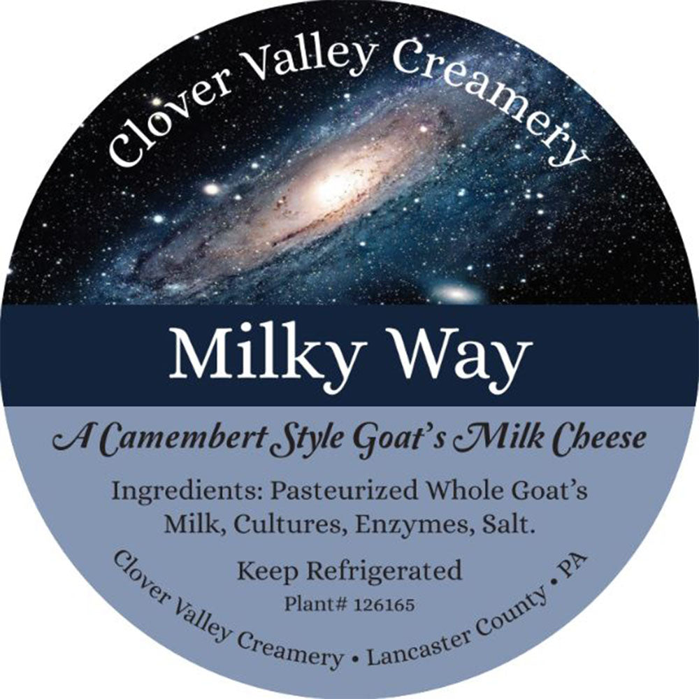 Clover Valley Milky Way Camembert