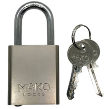 MAKO Mo. 427 - Rekeyable Rectangular Padlock