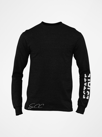 ESTATE Long Sleeve Back Logo Shirt
