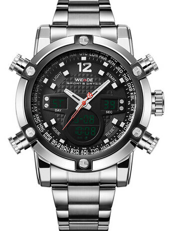 Weide Watches - Men's Watches - Sport Watches - Stainless Steel Wristwatches - ClubLid.com