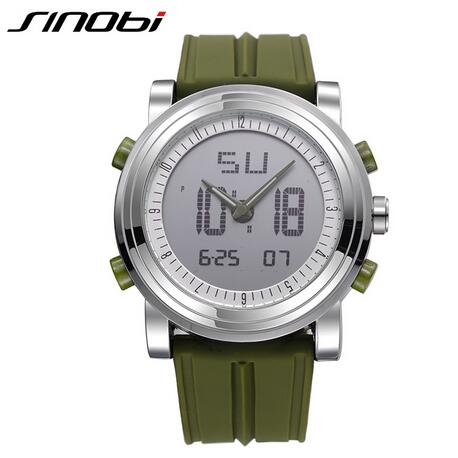Watches - Sport Watch with Rubber Band - Men's Women's Watches - ClubLid.com
